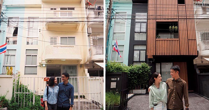 Thai Couple Give Their Old House A Makeover And The Before And After Pictures Speak For Themselves