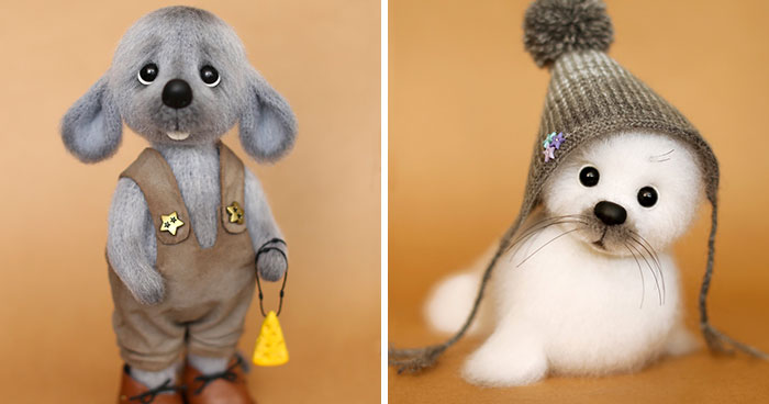 I Crochet Toys Inspired By Various Animals (39 Pics)