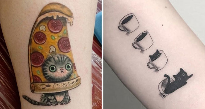 40 People Who Got Absolutely Awesome Cat Tattoos