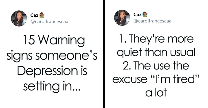 This Girl Shared A List Of 15 Warning Signs That Will Help You Recognize Someone Who Is Suffering From Depression