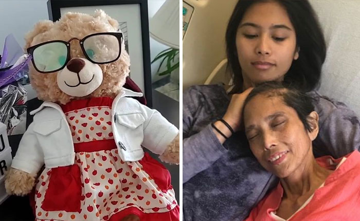 Someone Stole This Woman's Teddy Bear That Had Her Late Mother's Voice Recording On It, Ryan Reynolds And Other People Online Step In To Help Find It (Updated)