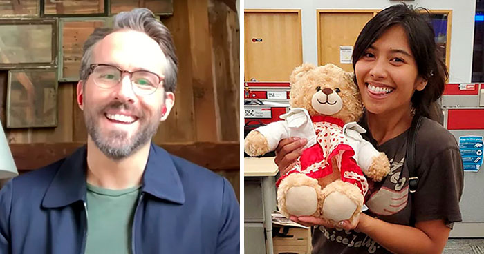 Priceless Stolen Teddy With This Woman's Late Mother's Voice Recording Is Returned After Ryan Reynolds' Ransom Offer
