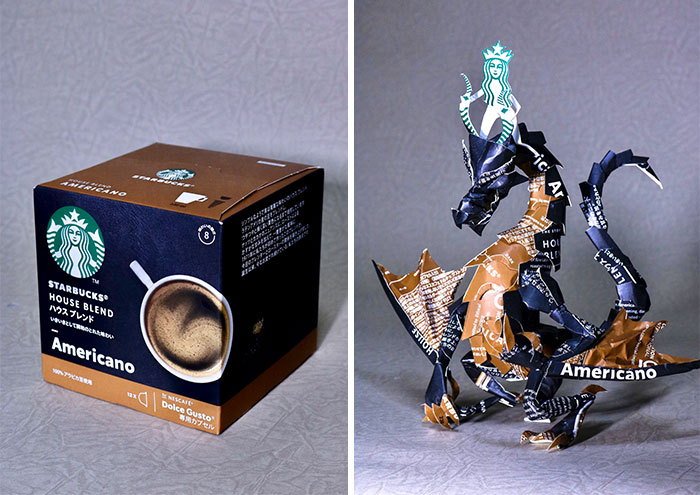 16 Product Packaging Redesigned Into Amazing Sculptures By Harukiru