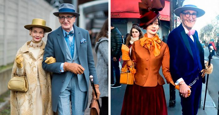 This Elderly German Couple Steals The Show Every Time They Go Out (30 Pics)