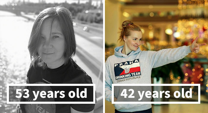 Person Asks People Over 40 To Share Their Pics To Show Aging Is Not That Scary (30 Pics)