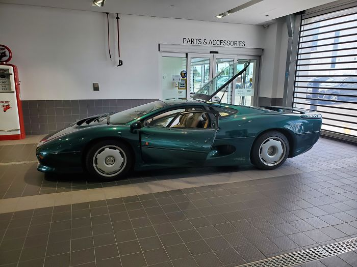 The First And Probably Last Time I Will Ever See One Of These. Jaguar Xj220 With Only 3k On The Odometer