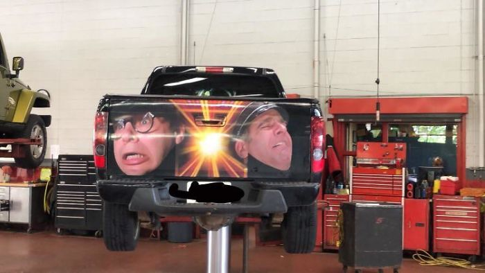 Had An Interesting Tailgate Come In Today