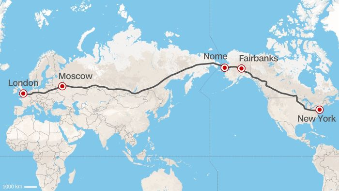 A Europe–U.S. Superhighway Proposed By The Former President Of Russian Railways