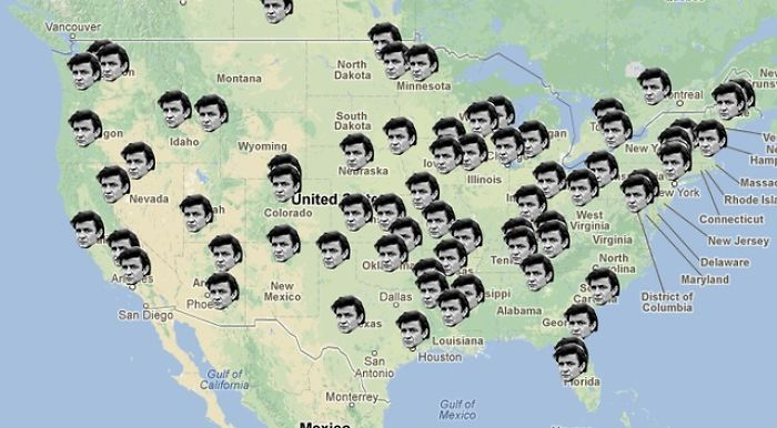 """Locations Johnny Cash Claims To Have Been In """"Ive Been Everywhere"""""""