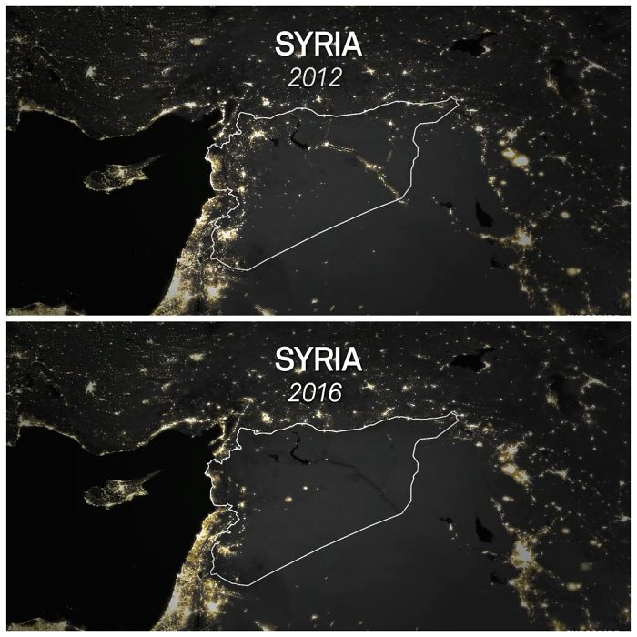 Syria Before And After Civil War