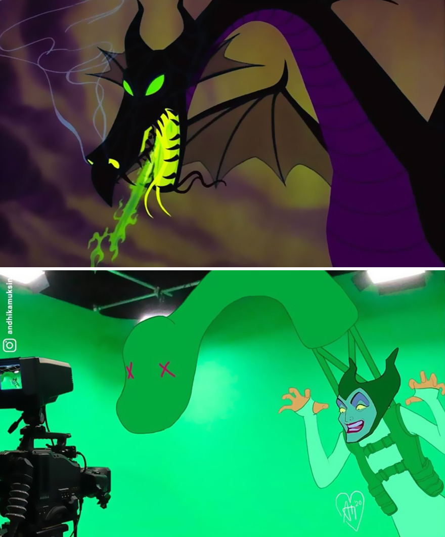 Backstage Of Disney Cartoons