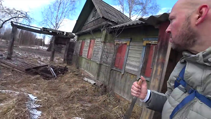 Guy Explores The Real Chernobyl Exclusion Zone, Discovers a 92 Y.O. Grandma and Her Son Living There