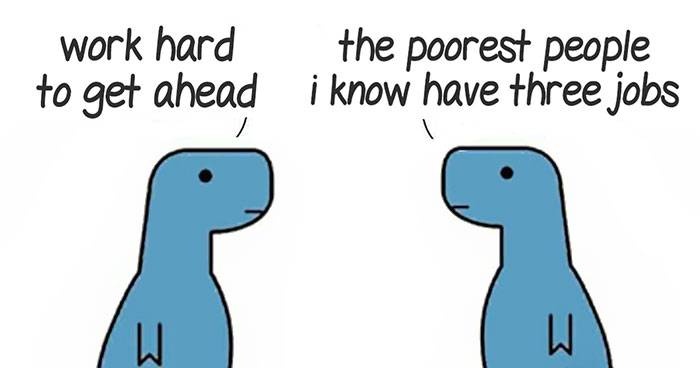 45 Honest Comics About Mental Health Illustrated With Dinosaurs