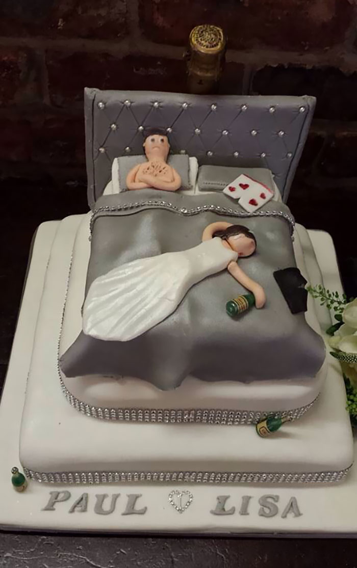 Spot On Cake At The Wedding I Was At Today