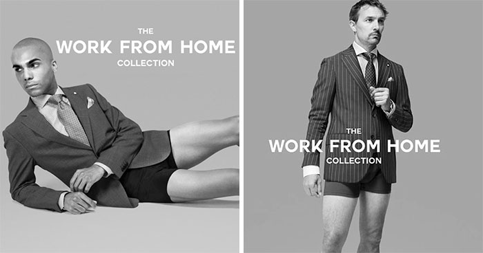 In The Midst Of COVID-19 Pandemic, Canadian Clothing Brand Releases A Work From Home Collection