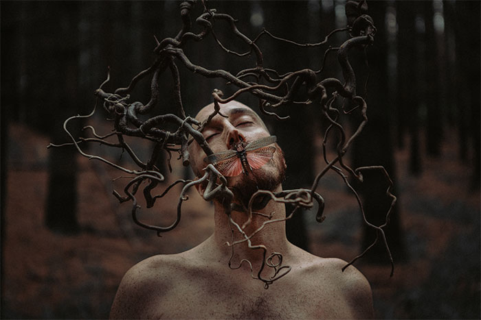 Italian Artist Captures 50 Mystical Photographs That Portray His Inner Emotions