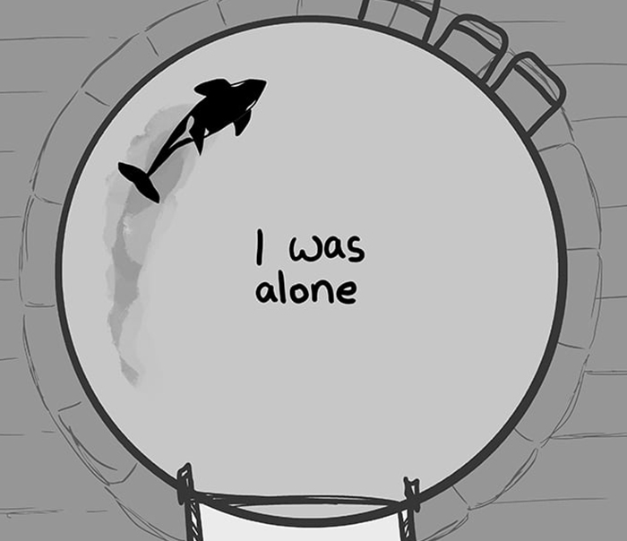 Artist Who Makes People Cry With Her Animal Abuse Comics Just Released A New Tragic One About Orcas