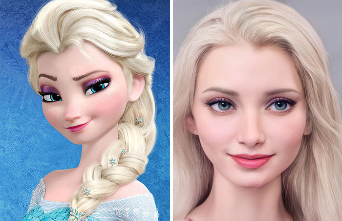 What If Disney Characters Were Real: Artist Uses Artificial Intelligence To Answer This Question (12 Pics)