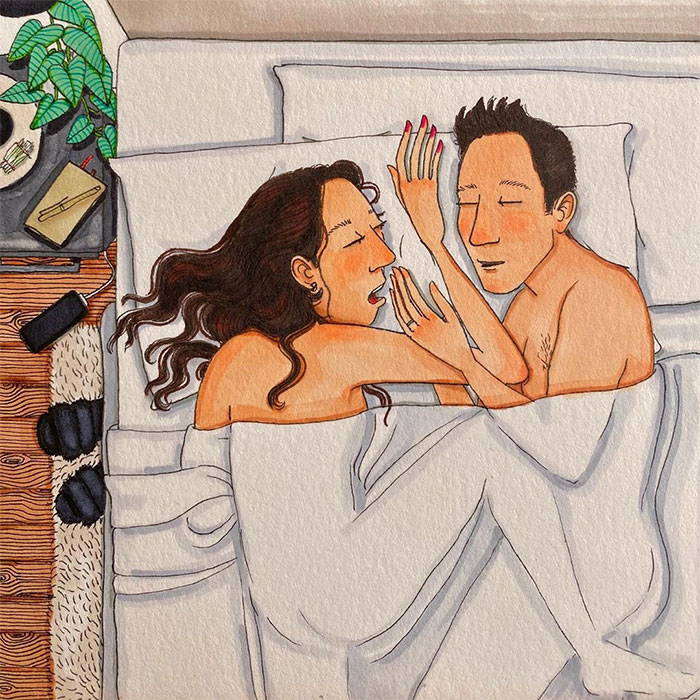 Artist Draws What Really Happens Behind Closed Doors In Every Relationship (30 New Pics)
