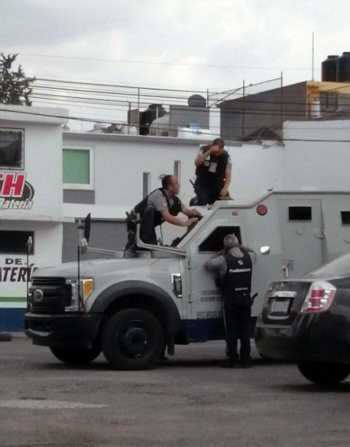 These Guys Locked Their Keys In An Armoured Truck