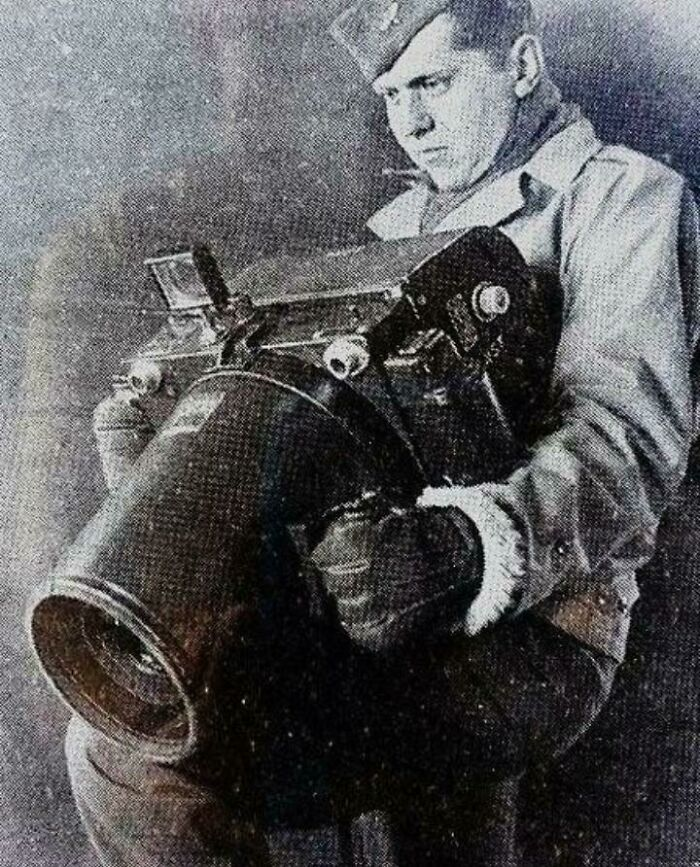 Kodak K-24 Camera, Used For Aerial Photography During Ww2 By The Americans