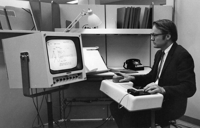 The First Public Demonstration Of A Computer Mouse, Graphical User Interface, Windowed Computing, Hypertext And Word Processing, 1968
