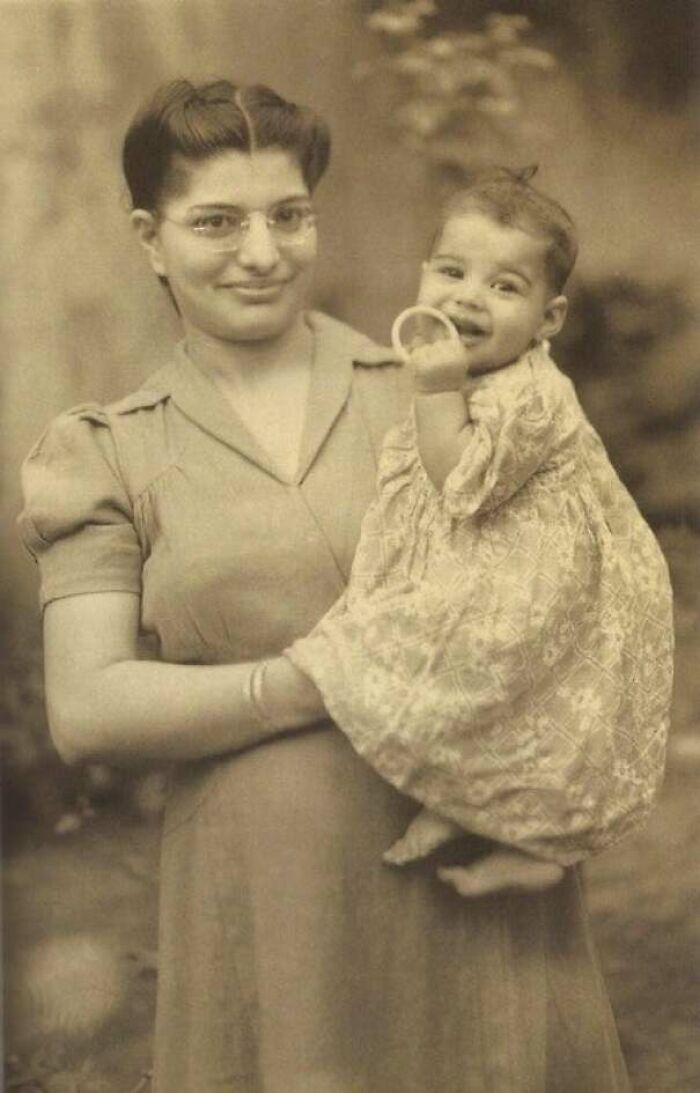 Freddie Mercury With His Mother, 1947