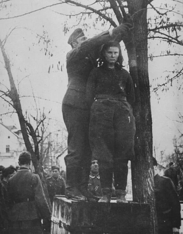 When Nazis Asked Lepa Radic Who Were Her 'Accomplices' Before They Hanged Her She Responded: 'You'll Know Them When They Come To Avenge Me.' Young Serbian Girl Was Hanged At The Age Of 17 Near Gradiska In 1943. During The Battle Of Kozara, She Lost Her Father, Brother (15) And Her Uncle