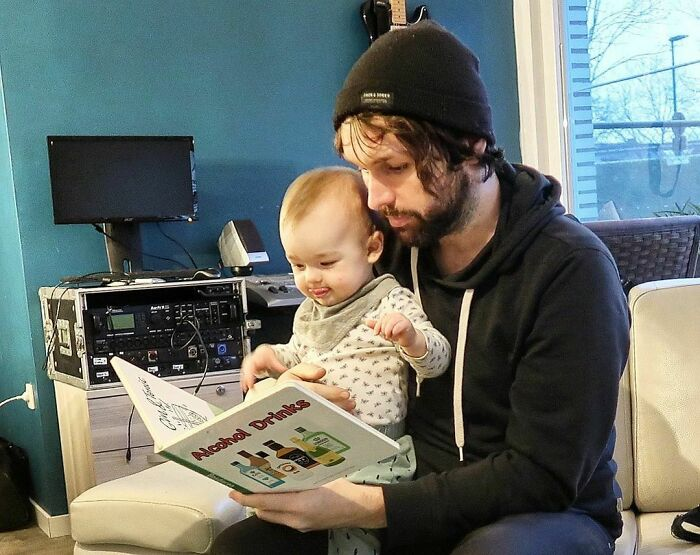 I Love Storytime With Dad!