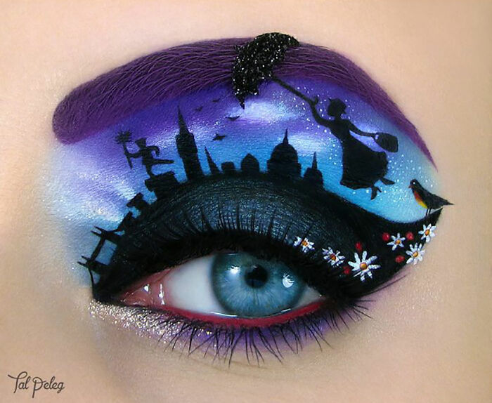 Makeup Artist Uses Her Eyes As A Canvas Creating Stunning Art