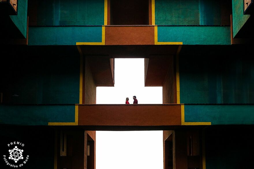 Geometry Is The Key To This Couple Photo By Sergio Arnés