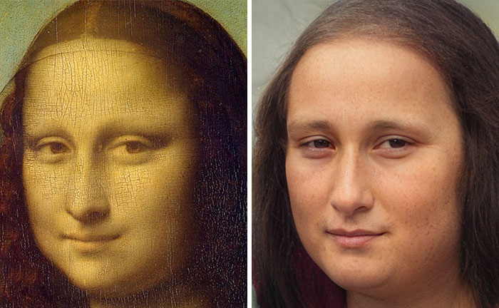 21 Artificial Intelligence Recreations Of Famous Paintings, Historical Figures, And Cartoons By This Artist