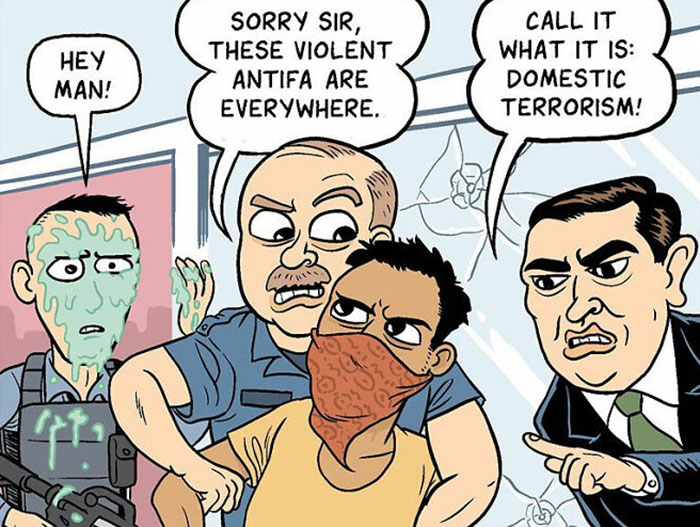 20 Comics About What's Really Wrong With The US, By Matt Bors