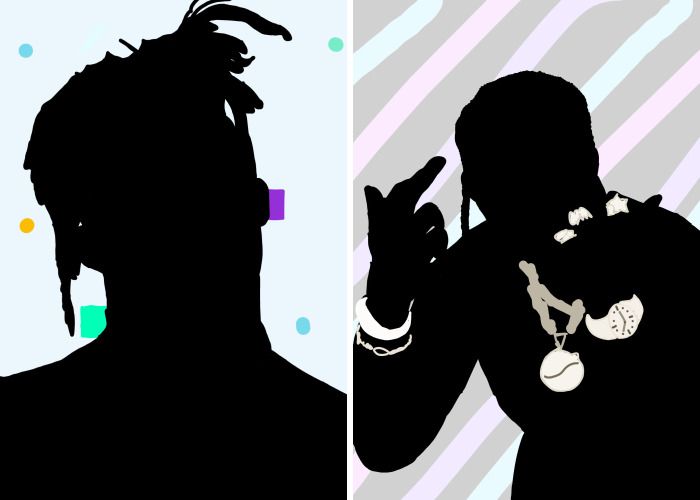 I'm An 11-Year-Old And I Made These Drawings Of My Favorite Rappers