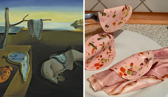 25 People Recreating Famous Paintings With Sandwiches