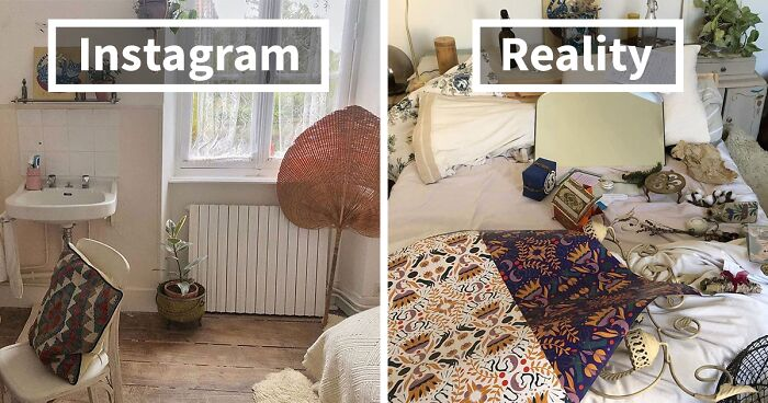 People Are Sharing Honest Instagram Vs. Reality Comparisons (30 Pics)
