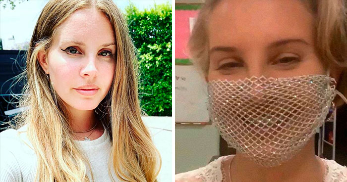 Lana Del Rey Responds To People Who Criticized Her For Wearing A Mesh Face Covering During The Coronavirus Pandemic