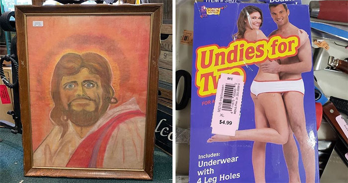 This Instagram Account With 183K Followers Is Dedicated To Showing The Most Bizarre Thrift Store Finds (40 Pics)