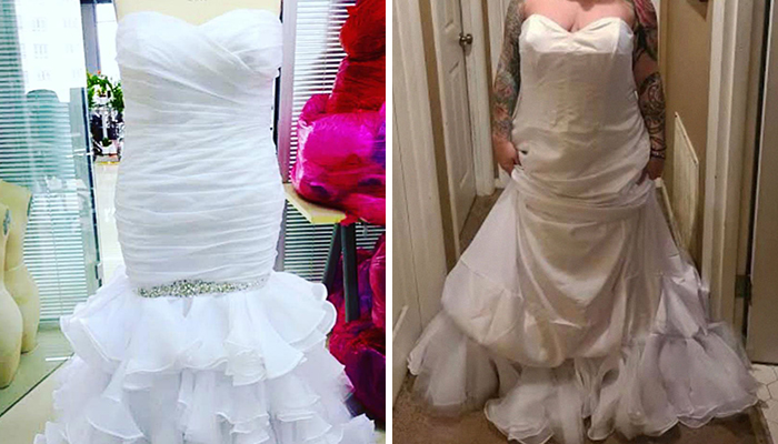 Bride Complains Her Wedding Dress Looks 'Nothing Like Order', Gets An Email Saying It's Inside Out