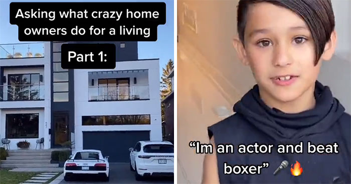Guy Goes To Expensive Homes And Asks Strangers What They Do For A Living And It's Getting A Lot Of Attention (23 Pics)