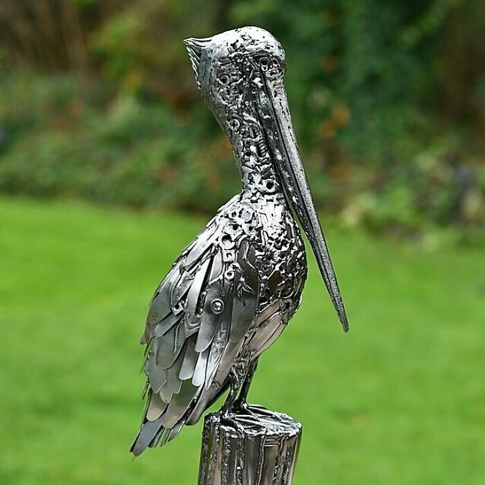American Artist Brings Recycled Materials Back To Life, Here Are 30 Of His Incredible Sculptures