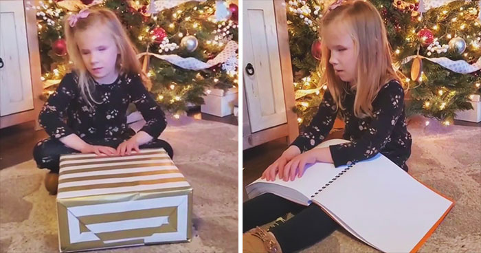 Aunt Organizes A Fundraiser To Raise Money For A Collection Of Braille Harry Potter Books For Her Blind Niece, And Her Reaction Is Priceless