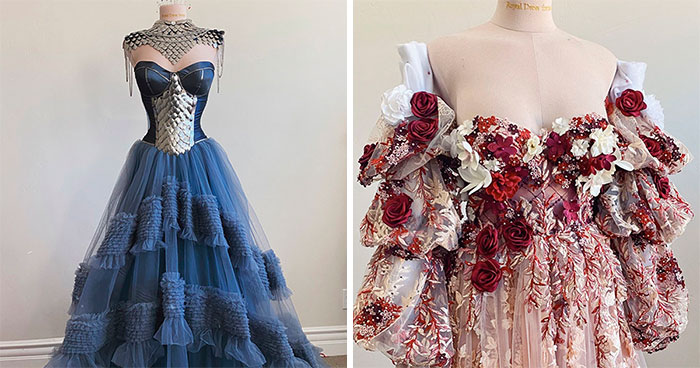Self-Taught Designer Tweets Photos Of All The Dresses She Made In 2020, And Her Thread Gets 337K Likes