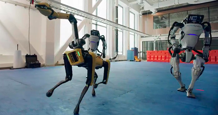 Boston Dynamics Recorded A Video Of Its Robots Performing Impressive New Year Dance