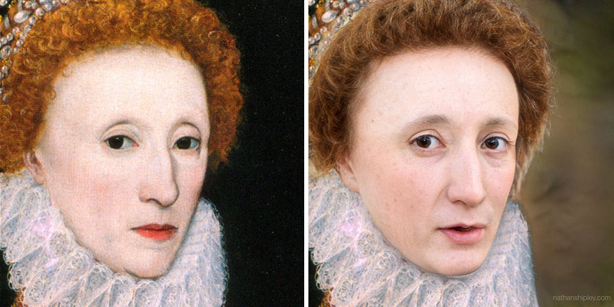 Queen Elizabeth I (Middle-Aged)