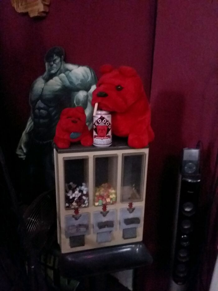 I Had Way Too Many Options Available For This Post... Hulk, Red Dog & The Candy Machine