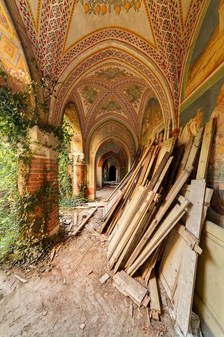 Abandoned Castle, Italy