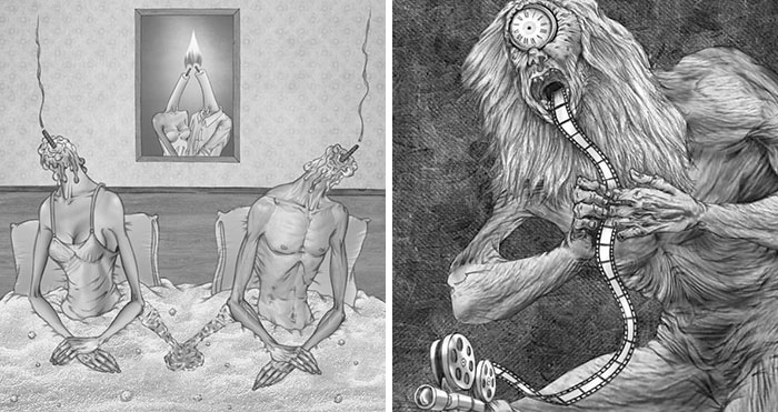 Artist Captures What's Wrong With Today's Society In 38 New Thought-Provoking Illustrations