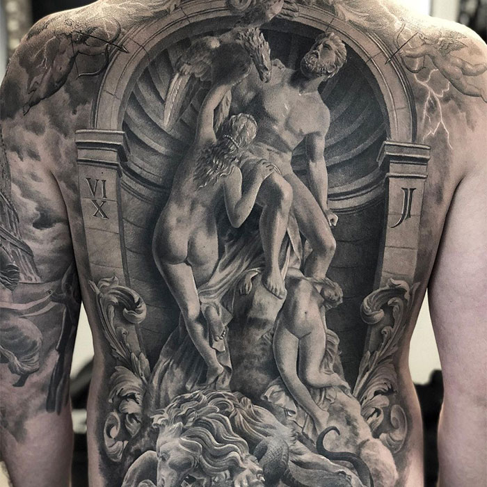 40 Impressive Tattoos By A Swedish Artist Who Specializes In Black And Gray Realism