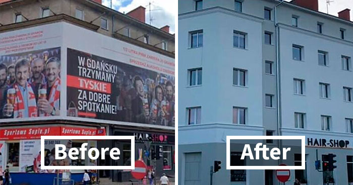 "Poland Is Removing Flashy Banners And Ads, And The ""Cleanse"" Looks So Good (30 Before & After Pics)"